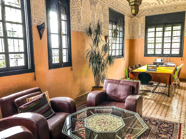 Splendide villa de type Riad au coeur d'Agadir