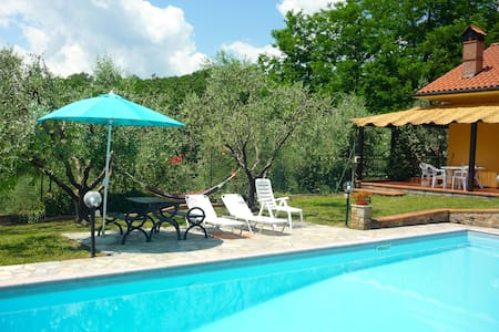 Cottage with private swimming-pool - Lucignana - Dům