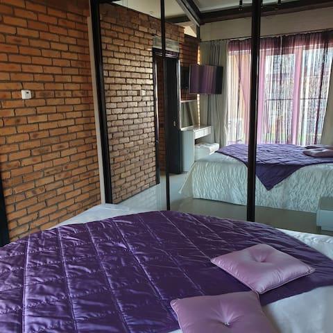 Двух-уровневая квартира в курортном районе города