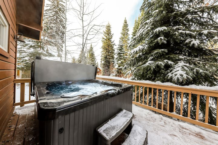 New Listing! Partially Secluded Home w/ Private Hot Tub, WiFi, and Great Views!