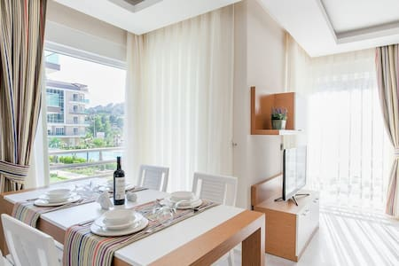 Lxry 2 BR apartment excelent for the families ML1 - Antalya - Byt