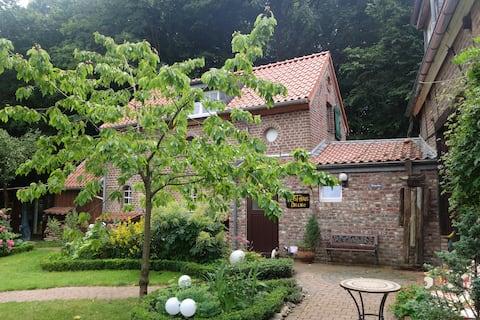 Kunsthaus: Nachbar vom Schloss Liedberg und Wald