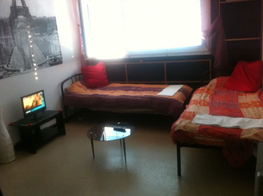 Appartement t1 bis meubl flats for rent in villeurbanne - Appartement meuble villeurbanne ...