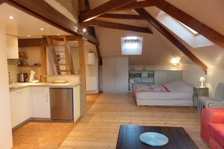 Ecofriendly loft 900m to the beach - Agon-Coutainville - Lejlighed