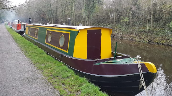 Canal narrowboat, mini cruises, Whaley Bridge.