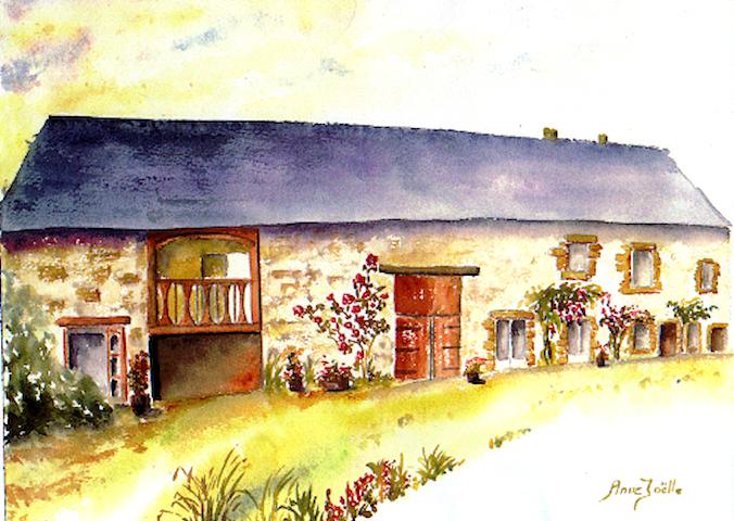 Chambres Les Fleurettes 2 personnes - Saint-Marcan