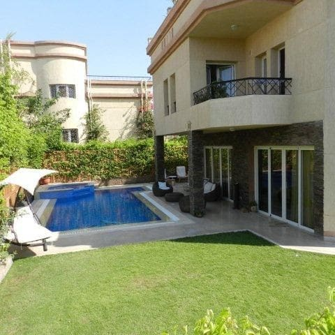 Unique villa with pool at Rihab City New Cairo