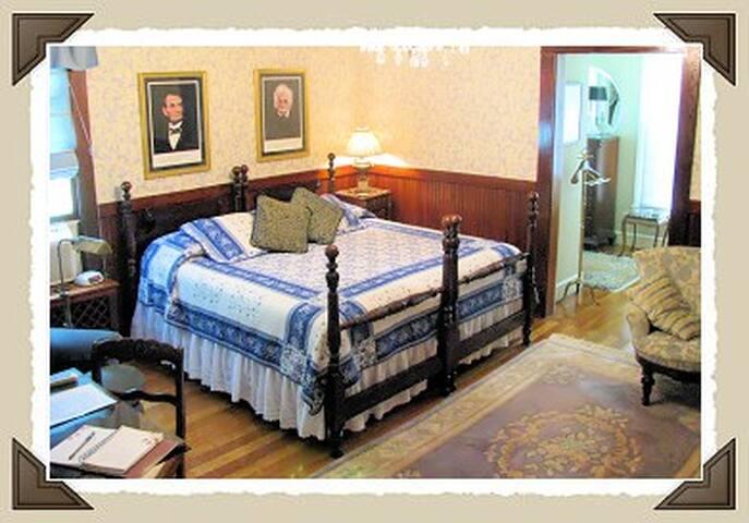 Mildred's Suite w/king bed & ensuite bath