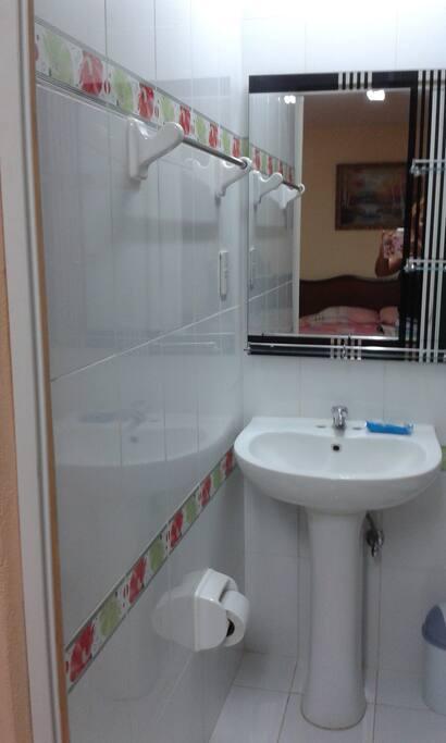 Baño privado para la habitación