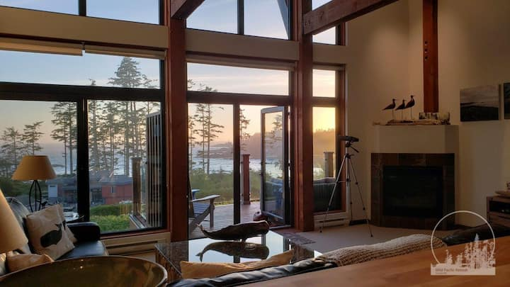 The Wild Pacific Retreat - Views For Ever