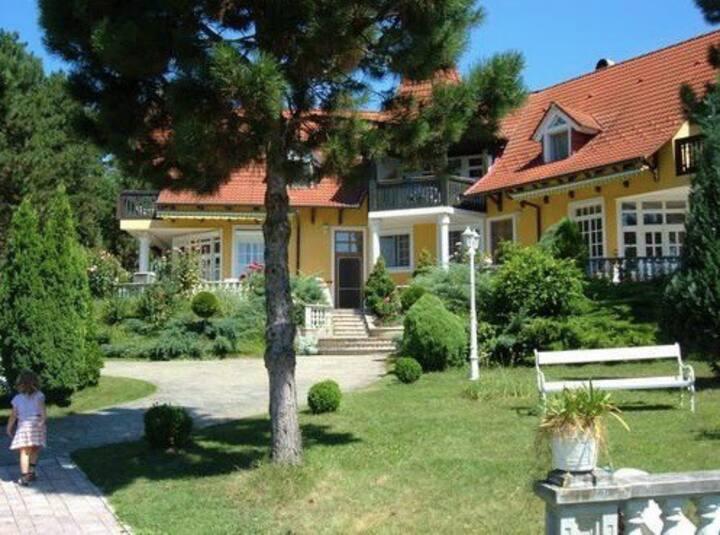 1-es Apartman:Medence-Légvár-Lovak-Balatoni Panorá