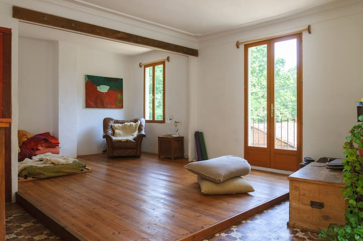 Casa con encanto junto al parque natural Montseny - Arbúcies - Apartament