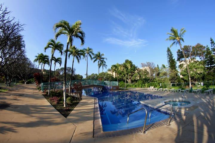 Koa Resort 1Bedr/1Ba in Tropical Garden near Beach
