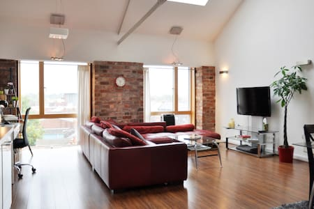 Penthouse Loft Apartment - Coventry - Loft