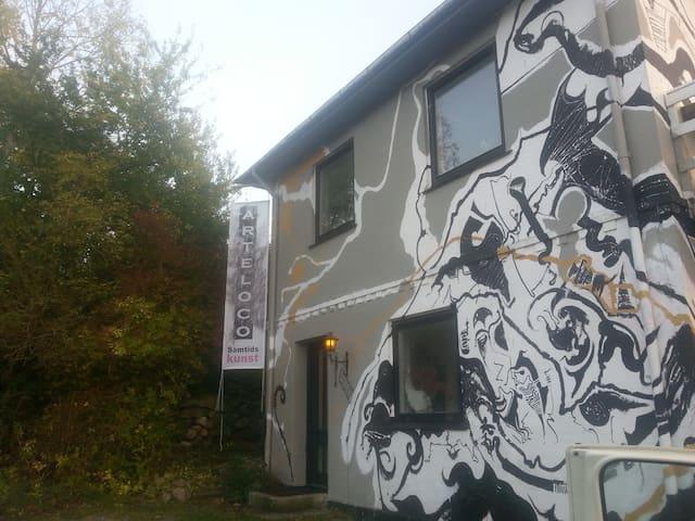 Kunstnerhuset på Møn