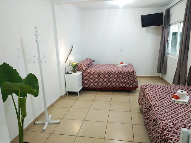 Cálido Apartamento  céntrico en cd Nezahualcóyotl