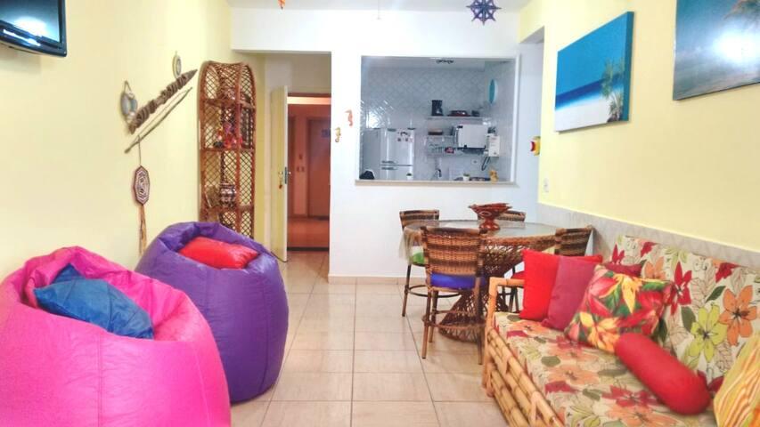 Aconchegante Apart Inteiro Guarujá Enseada
