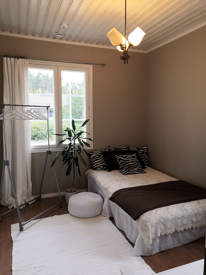 Cosy one bedroom in woodenhouse in Lappeenranta