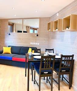 Appartement 4 pers, au pied des pistes, sauna wifi
