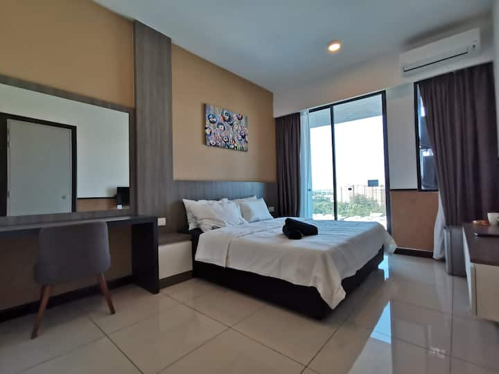 Port Dickson D'Wharf Seaview Unit - Up to 3 pax