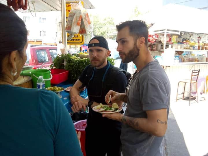 STREET FOOD Tacos/Tlacoyos/Queka/veggie