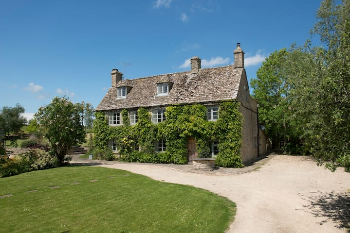 Luxury country house, Cotswolds - Didmarton - Casa