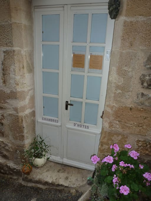 Your own private family wing entrance