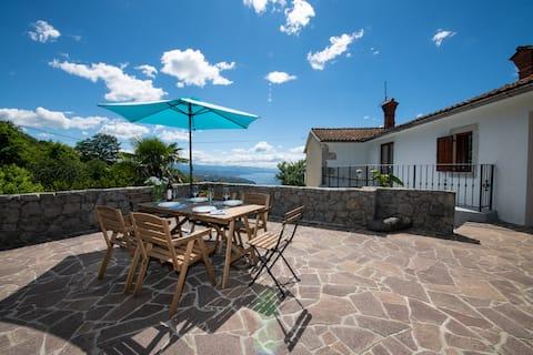 Sun&Sea House near Opatija