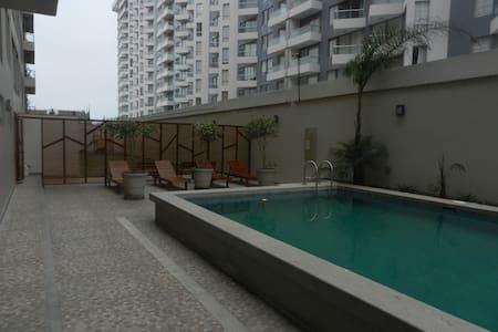 Apartamento con piscina - Lima