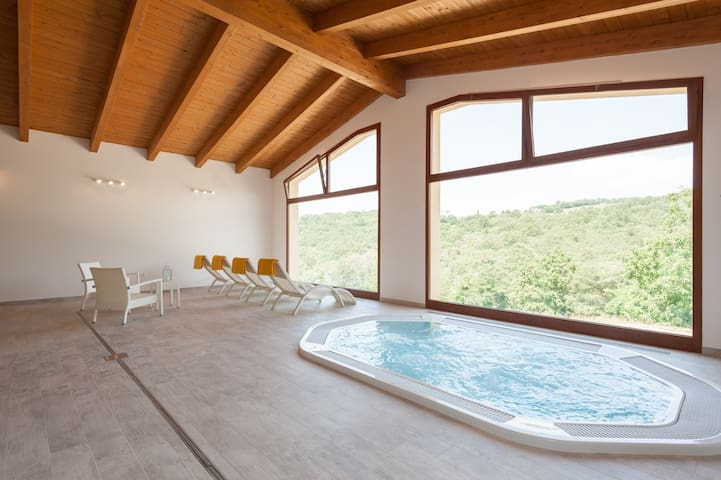 New Villa! private SPA, Pool, WI FI - Sansepolcro - 別荘