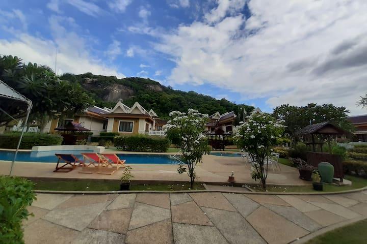 Villa, Khao Tao lake & beach- Room # 15