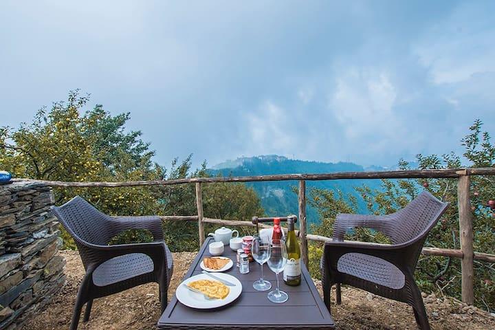 ♦Private Villa w/2BR+Serene View+BKFST nr Shimla♦