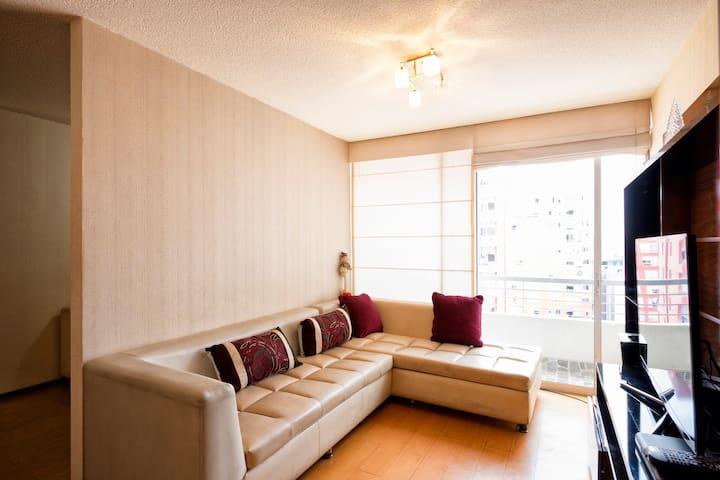 Departamento con 2 baños espacioso con terraza - Distrito de Lima - Appartement