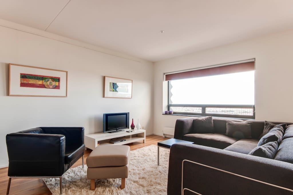 Your living room with great city views