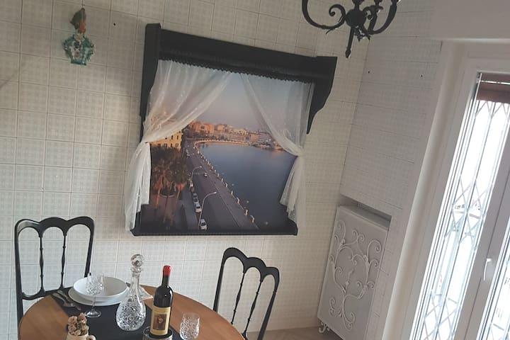 Finestra su Bari