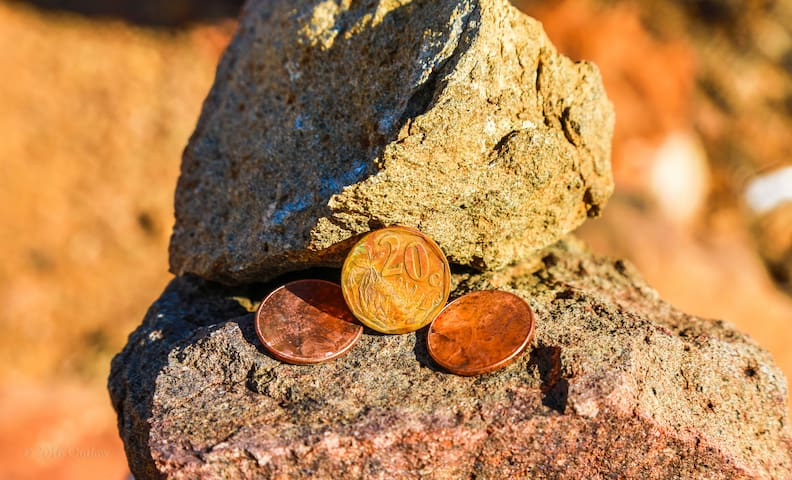 Leave pennies behind for good energy