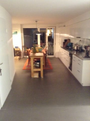 Spare room available in 2 bed flat - Zürich - Apartment