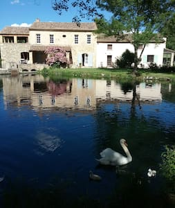 Gite ,Pêche  à la truite du Moulin des Fontaines.