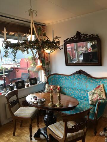 Room in cosy flat close to Bergen city - Bergen