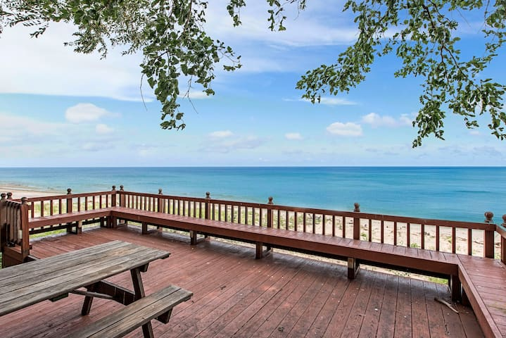 Beachfront Steps from CedarPoint Spring and Summer - Sandusky - Talo
