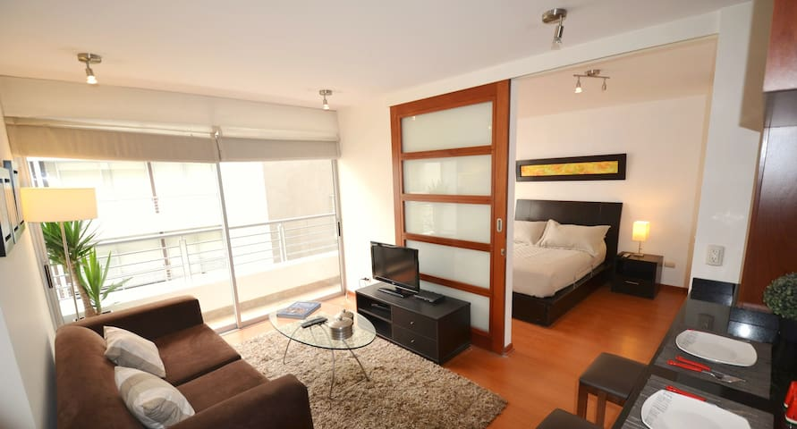 Cozy Apartment 2 in Barranco - Lima - Byt