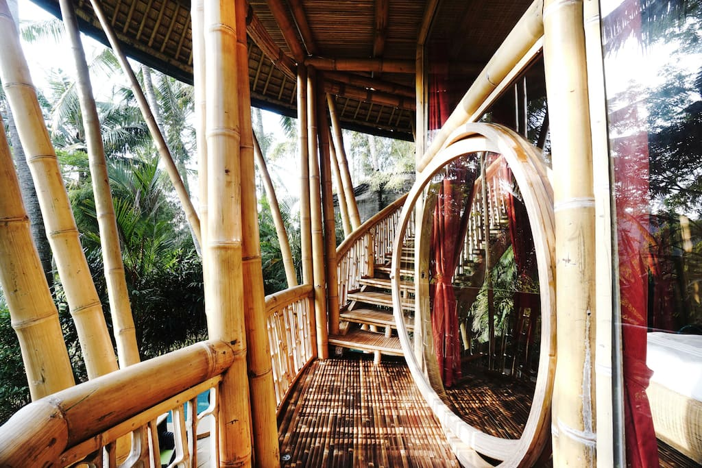 Incredible All Bamboo Home by River