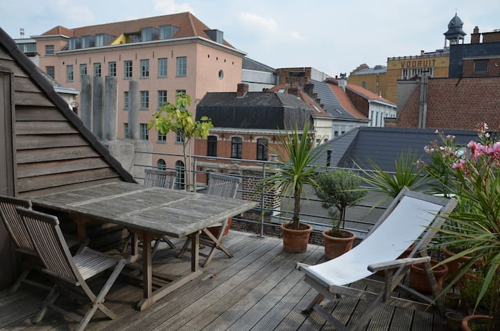 Apartment in cultural part of Ghent - Ghent - Departamento