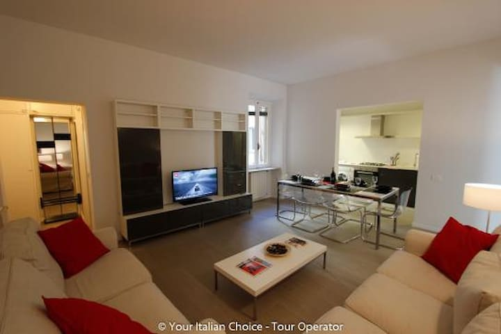 Lovely flat Florence for 6 people