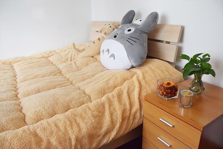 Spacious room in great neighborhood - Shanghai - Lejlighed