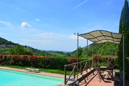 Charming house with pool in the Chianti - Florence - Greve in Chianti