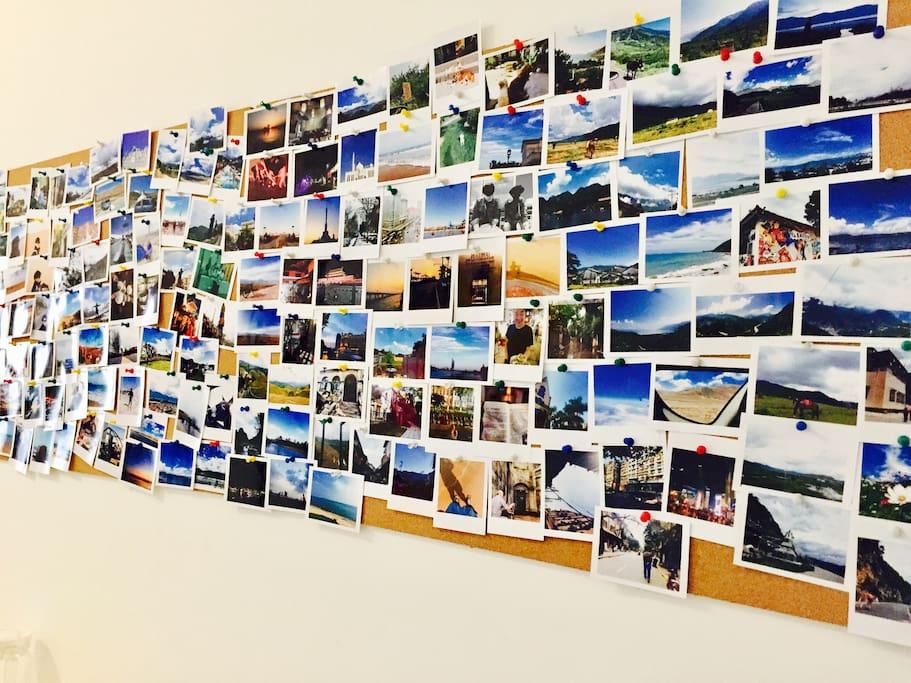 公共区域照片墙