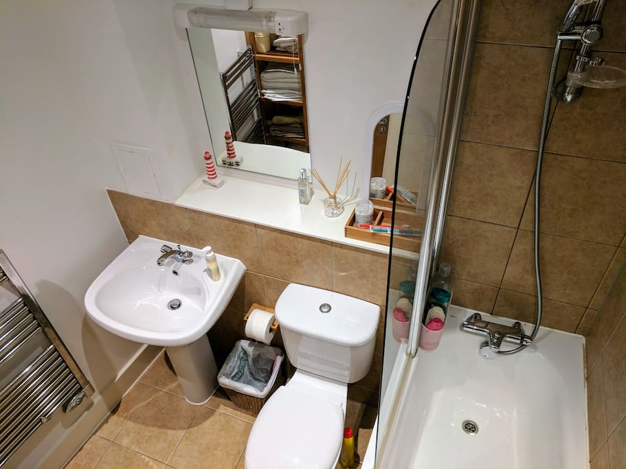 This is your own bathroom, only for yourself.