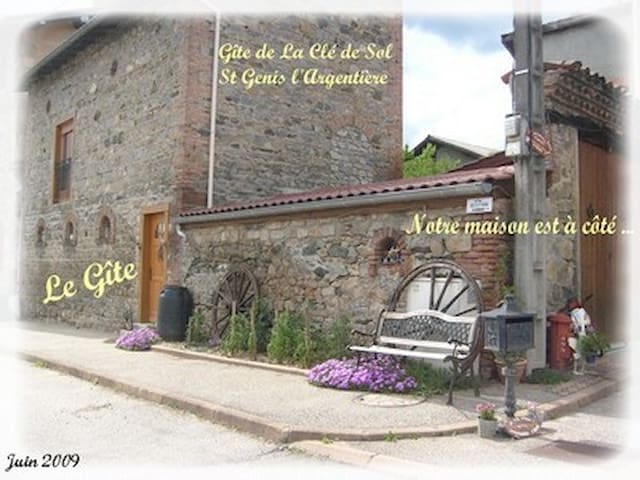 Gite  2/3 personnes - Saint-Genis-l'Argentière - Apartemen