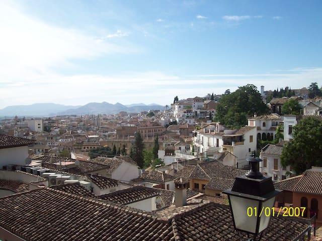 Habitación Cerca de La Alhambra - Granada - Wohnung